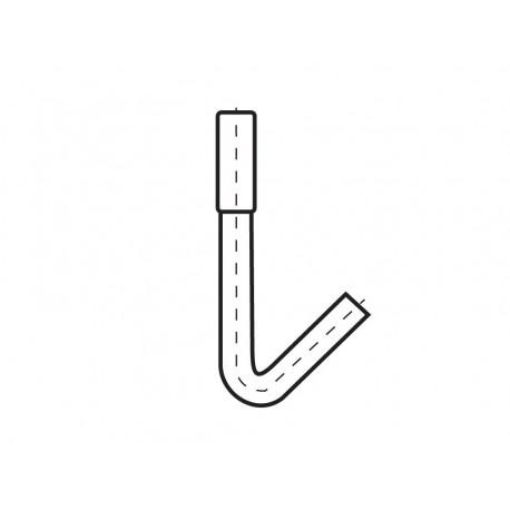 Hákový šroub L 30/120 FeZn